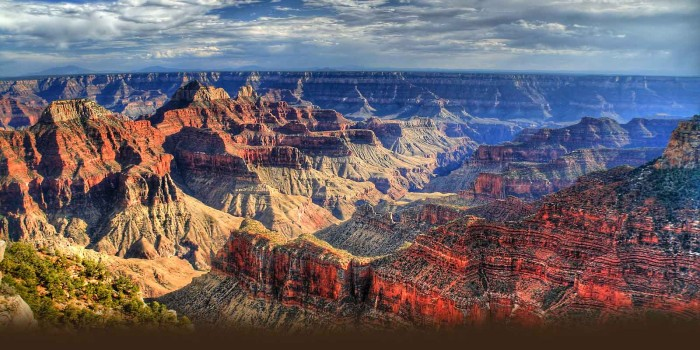 The Grand Canyon. A Lake's legacy.